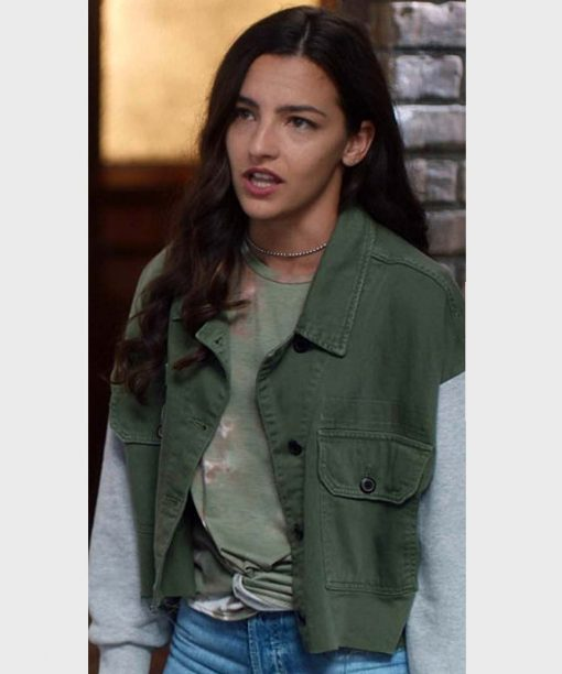 Kayla Compton The Flash Green Jacket