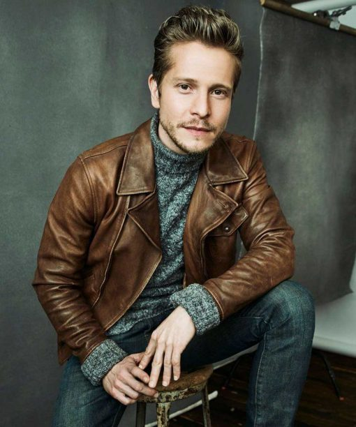 Matt Czuchry The Resident Brown Leather Jacket