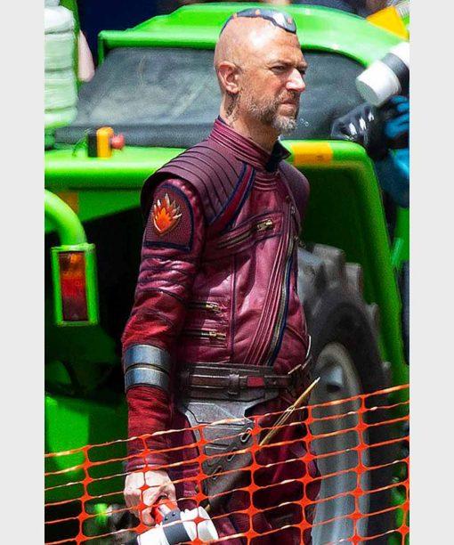 Thor Love and Thunder (2022) Maroon Leather Jacket