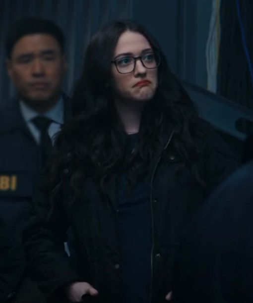 Kat Dennings WandaVision Black Jacket