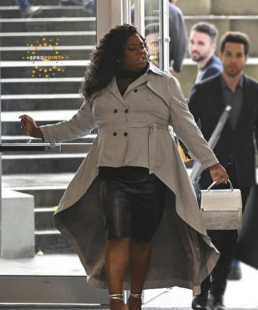 Alex Newell Zoeys Extraordinary Playlist Grey Frock Coat