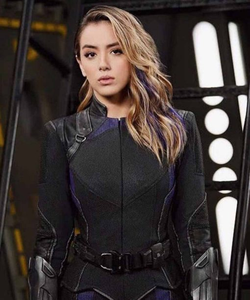 Chloe Bennet Agents of Shield Leather Jacket