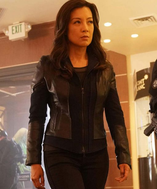 Ming-Na Wen Agents of Shield S06 Leather Jacket