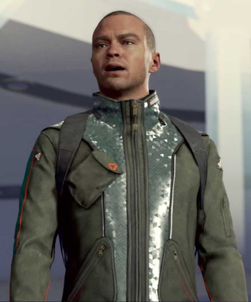 PS4 Game Detroit Become Human Markus Leather Jacket