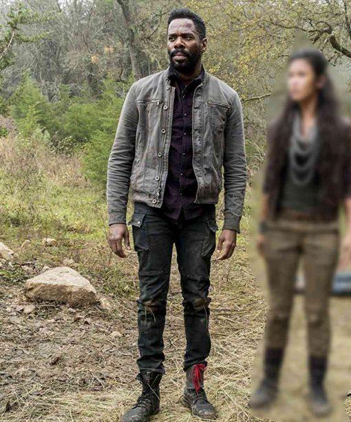 Fear the Walking Dead Colman Domingo Cotton Jacket