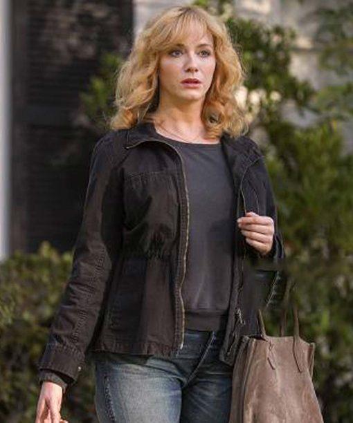 Good Girls Christina Hendricks Black Cotton Jacket