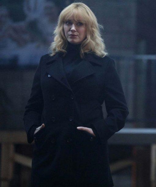 Christina Hendricks Good Girls Black Coat