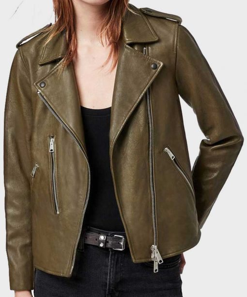 Roberta Colindrez Monsterland Leather Jacket