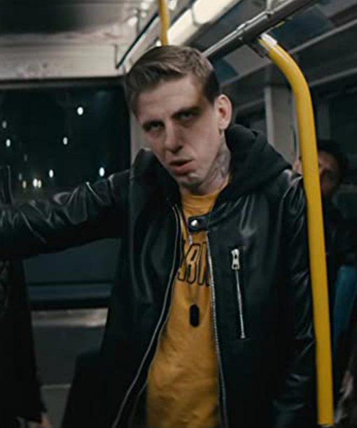 Nobody Aleksandr Pal Leather Jacket