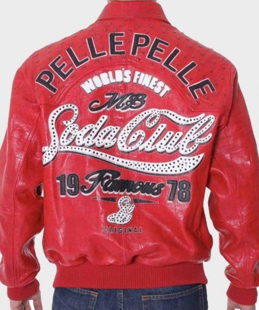 Pelle Pelle Red Jacket