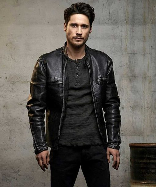 Peter Gadiot Queen of The South Black Jacket
