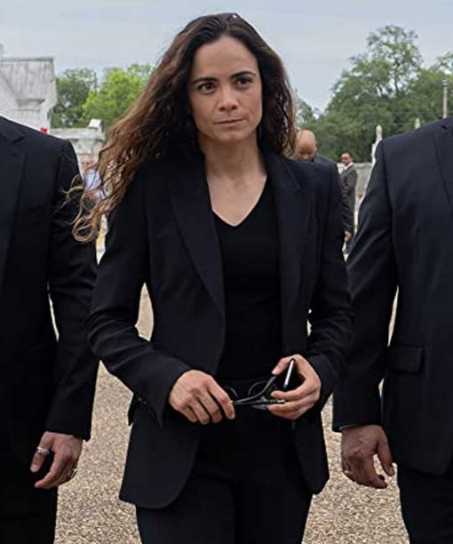 Alice Braga Queen of the South Black Blazer