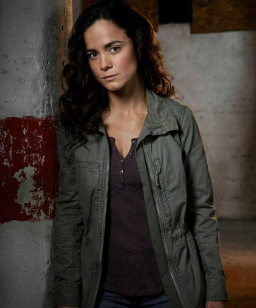 Alice Braga Queen of the South Cotton Jacket