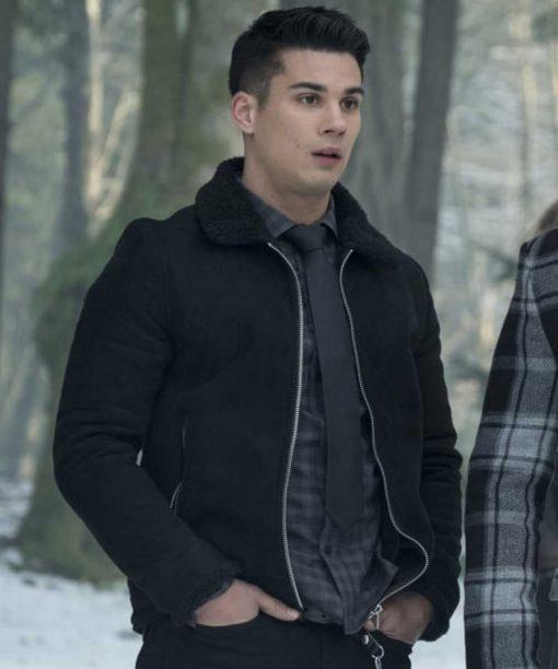 Drew Ray Tanner Riverdale Black Jacket