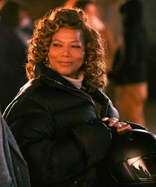 The Equalizer (2021) Queen Latifah Black Puffer Jacket
