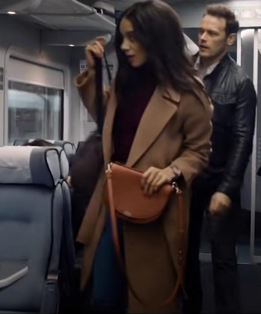 Hannah John-Kamen SAS: Red Notice Brown Coat