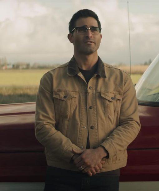 Superman and Lois Tyler Hoechlin Cotton Jacket