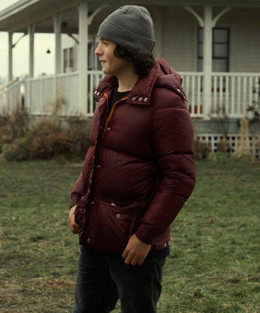 Alex Garfin Superman and Lois Hooded Puffer Jacket