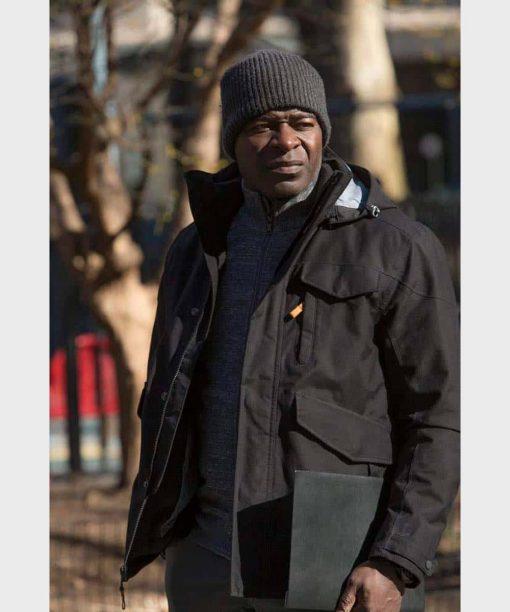 The Blacklist Hisham Tawfiq Black Hooded Jacket