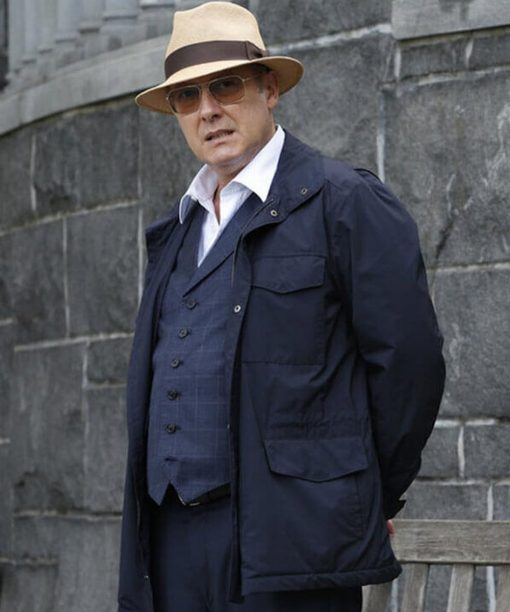 The Blacklist Raymond Reddington Blue Jacket