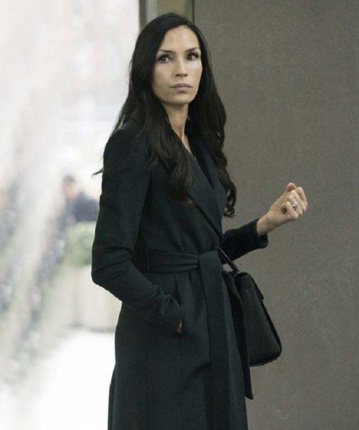 Famke Janssen The Blacklist Black Coat