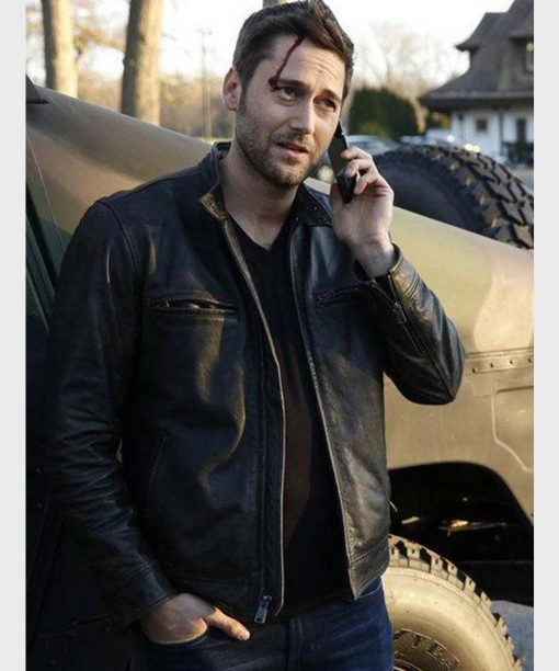 Ryan Eggold The Blacklist Black Leather Jacket