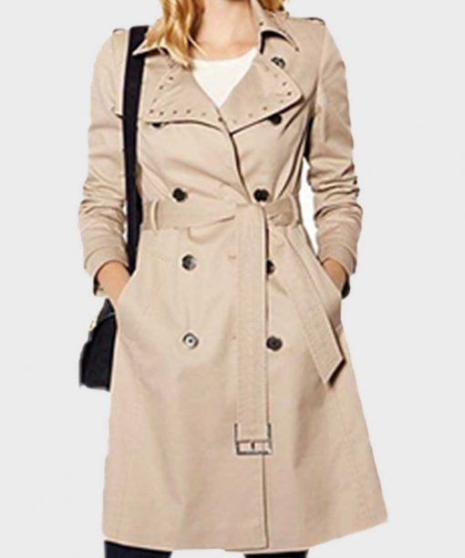 Caroline Spencer The Bold and the Beautiful Trench Coat