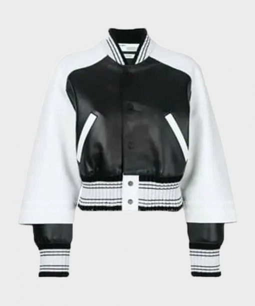 Diamond White The Bold and the Beautiful Black and White Jacket