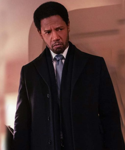 The Equalizer (2021) Tory Kittles Black Trench Coat