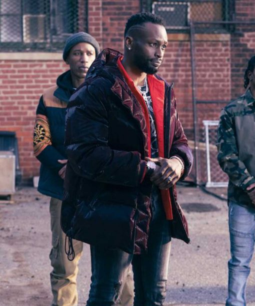 The Equalizer (2021) Jayson Wesley Puffer Jacket with Hood