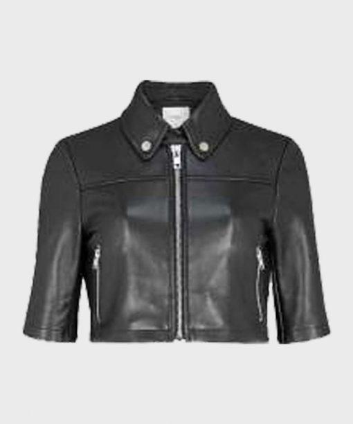 The Equalizer (2021) Black Leather Jacket