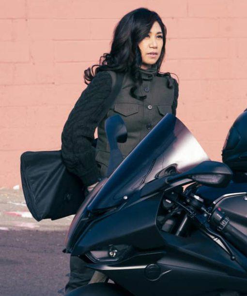 Liza Lapira The Equalizer (2021) Grey Vest