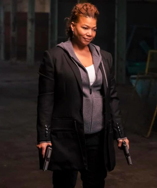 The Equalizer (2021) Robyn McCall Black Mid-Length Coat