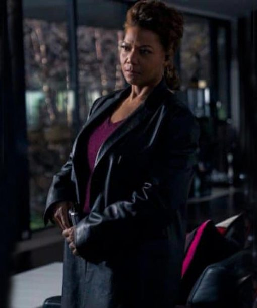 The Equalizer (2021) Queen Latifah Leather Coat