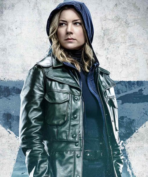 The Falcon and the Winter Soldier Emily VanCamp Leather Jacket