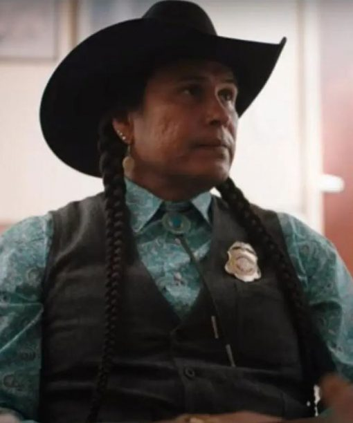 Rainwater Driver Yellowstone S04 Black Vest