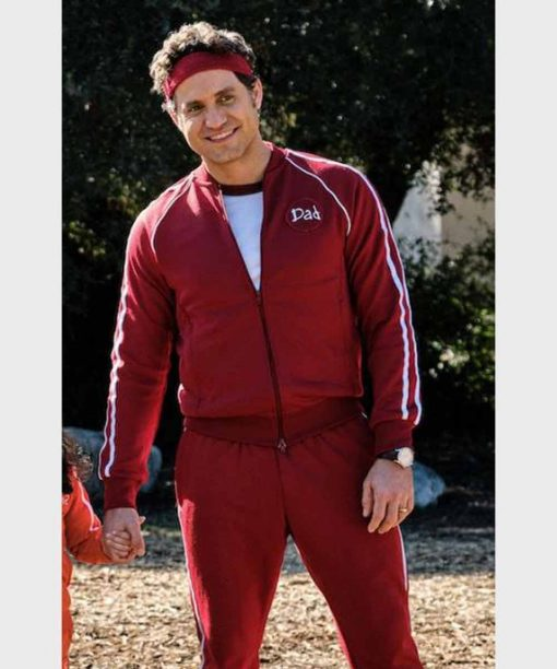 Yes Day 2021 Carlos Torres Maroon Tracksuit