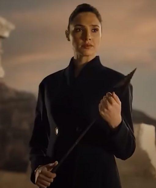 Zack Snyders Justice League (2021) Gal Gadot Coat