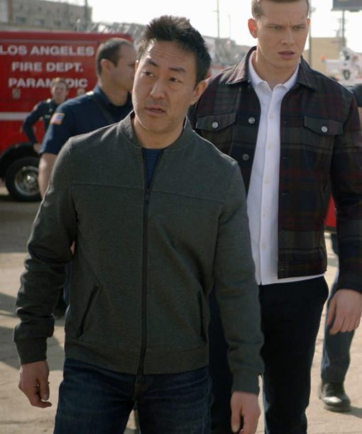 Kenneth Choi 9-1-1 Bomber Jacket