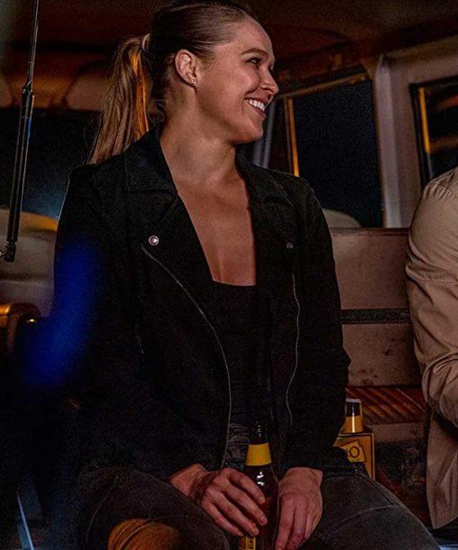 Ronda Rousey 9-1-1 Leather Jacket
