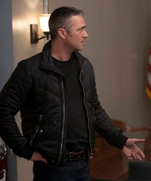 Chicago Fire S09 Taylor Kinney Bomber Jacket