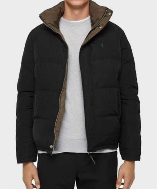 Chicago Fire S09 Taylor Kinney Black Puffer Jacket