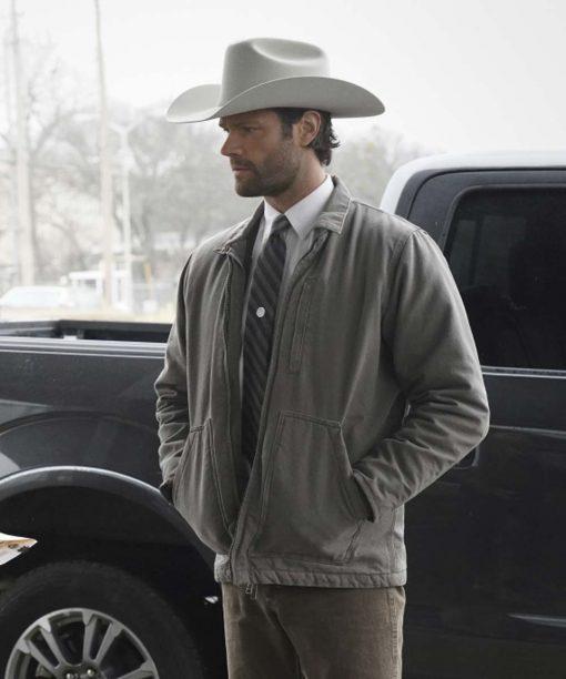 Jared Padalecki Walker (2021) Grey Jacket