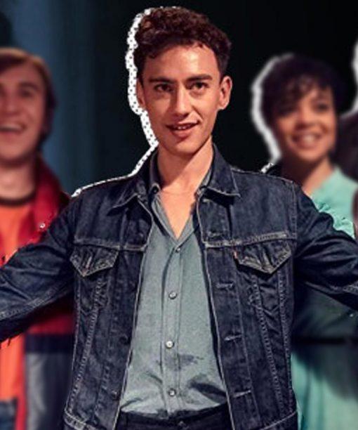 Olly Alexander It's A Sin Blue Denim Jacket