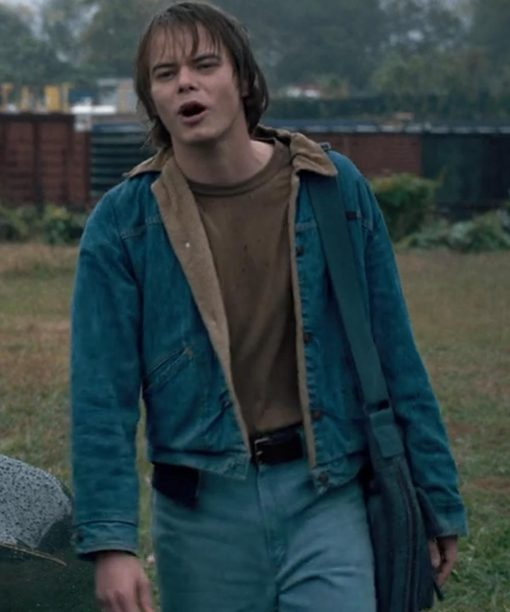 Stranger Things Charlie Heaton Blue Jacket