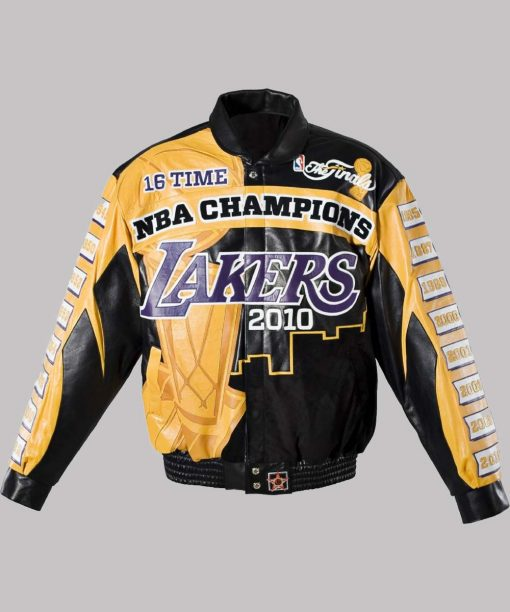Champions Lakers 2010 Leather Jacket