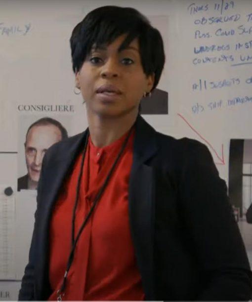 Danielle Moné Truitt Law & Order Organized Crime Black Blazer