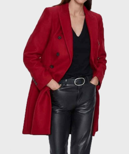 Legacies S03 Jenny Boyd Red Coat
