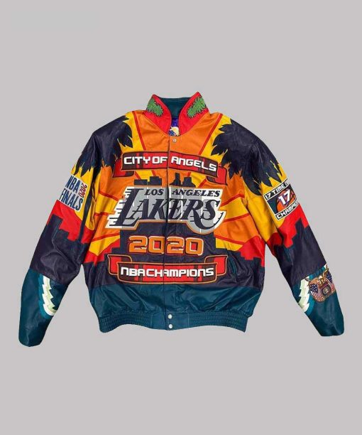 City of Angels Championship 2020 Leather Jacket