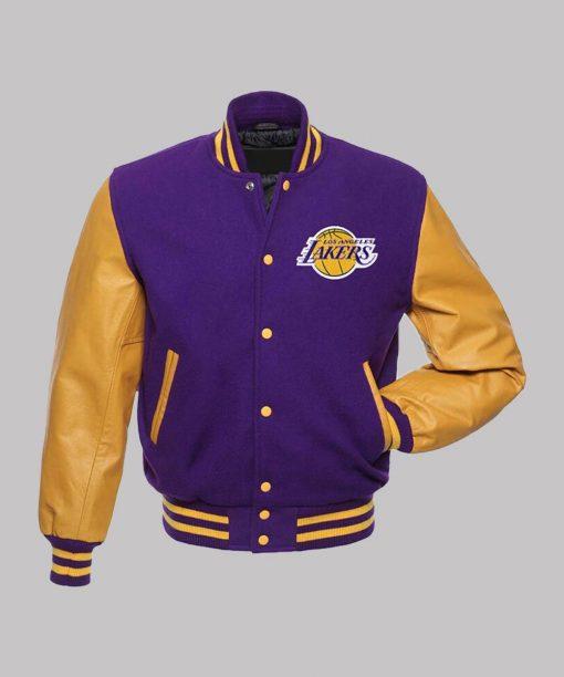 Los Angeles Lakers NBA Varsity Bomber Jacket